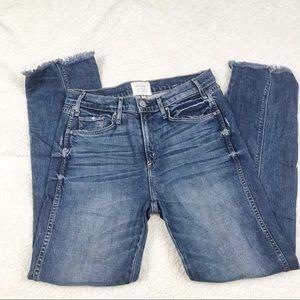 McGuire Raw uneven hem jeans